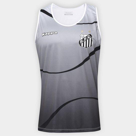a3fd04f771b42 Camiseta Regata Santos Dalmo 17 Masculina - Cinza - Compre Agora