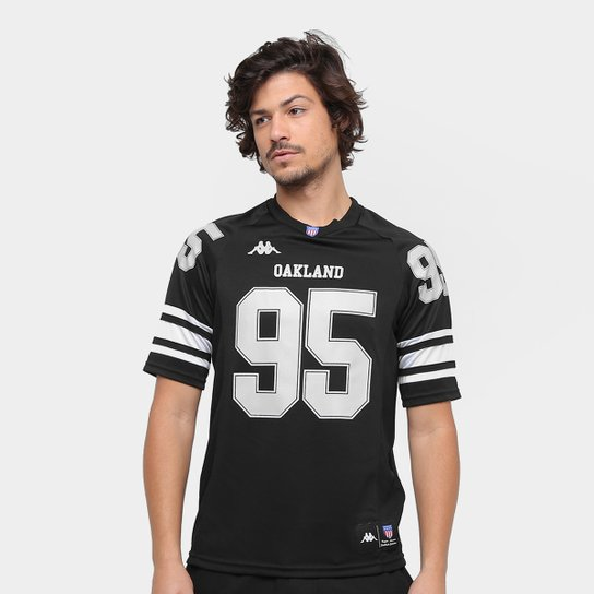 4d2a07f36 Camiseta Oakland Kappa Futebol Americano Masculina - Compre Agora ...