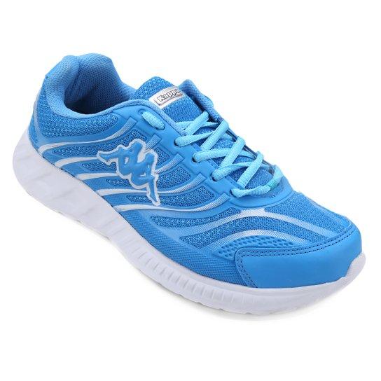 Tênis Kappa Lombardia Masculino - Azul Turquesa+Branco ... e0405566411a1