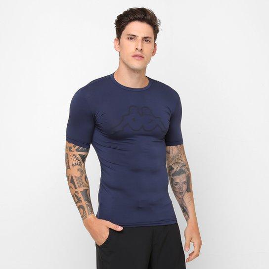 e04505e0a4 Camiseta Térmica Kappa Bevilacqua Masculina - Marinho - Compre Agora ...