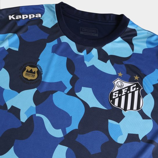 Camiseta Santos Kappa Vila Belmiro 17 Masculina - Compre Agora  6aac06c170943