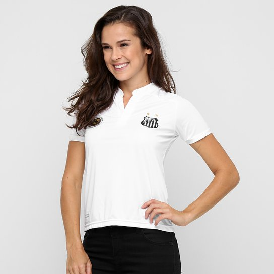 Camisa Santos I 2016 s nº Torcedor Kappa Feminina - Compre Agora  64c155d0a84ef