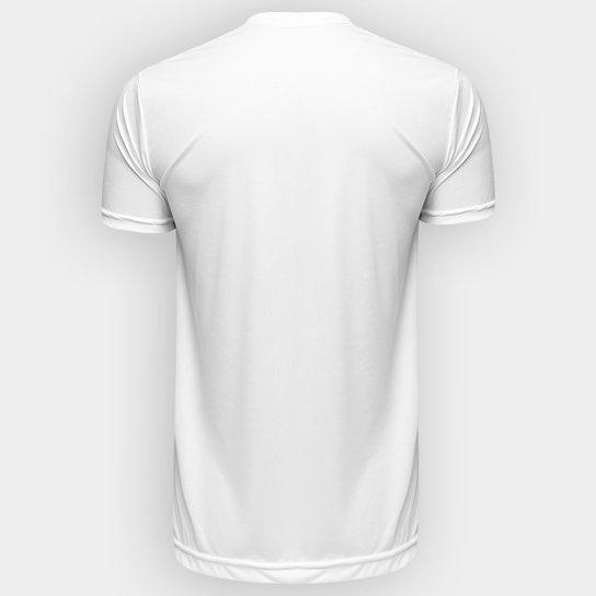 ... Camisa Santos Edição Limitada Torcedor Kappa Masculina - Branco ... b0ec4d9ea1297