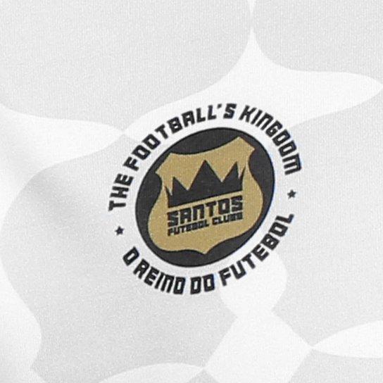 b39869705b ... Camisa Santos Edição Limitada Torcedor Kappa Masculina - Branco ...