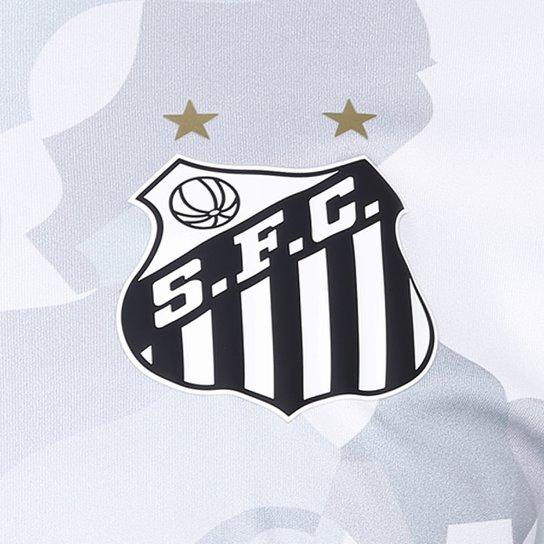 ... Camiseta Santos Kappa Vila Belmiro 17 Masculina - Branco ... a17b559a133dd