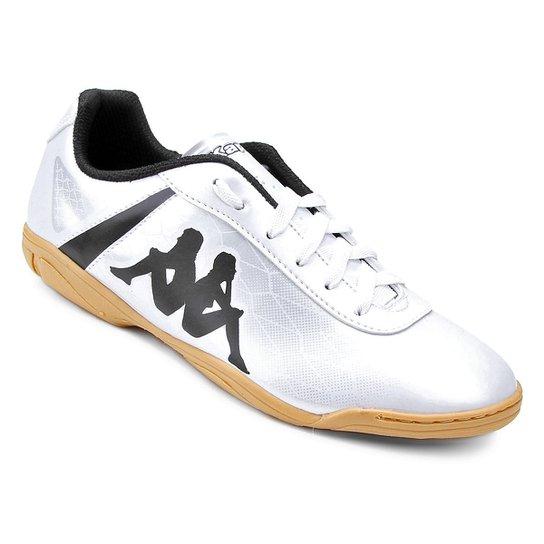 0cccb4873e Chuteira Futsal Kappa Torpedo - Branco - Compre Agora