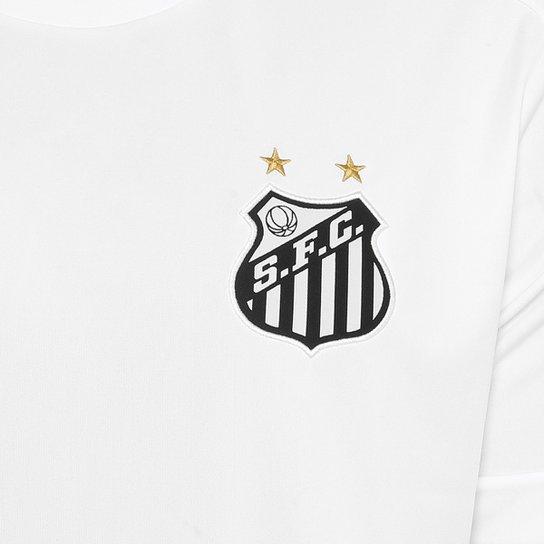 ... Camisa Santos I Réplica 17 18 Torcedor Kappa Masculina - Branco ... 7aef1e5c58fa6