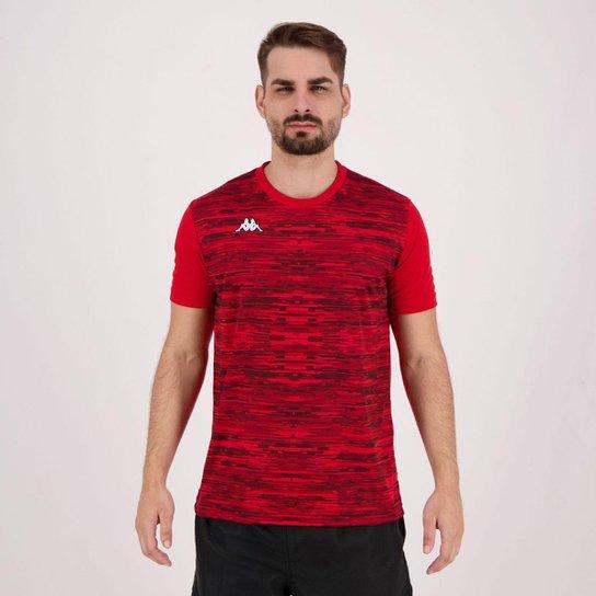 Camiseta Kappa Jenner Masculina - Vermelho Camiseta Kappa Jenner Masculina  - Vermelho ... 5105ad23b58b3