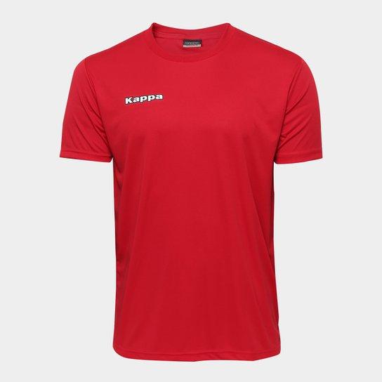 7c9e61aef28f7 Camiseta Kappa Shangai Masculina - Vermelho - Compre Agora