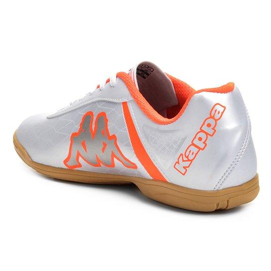 79cee61709 ... Chuteira Futsal Kappa Torpedo - Branco+Laranja ...