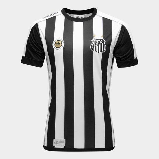 cd0b47cd7da97 Camisa Santos II 17 18 s nº Torcedor Kappa Masculina - Compre Agora ...