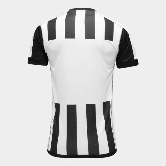 7eeb4b32395cb ... Camisa Santos II 17 18 s nº Torcedor Kappa Masculina - Preto+Branco ...