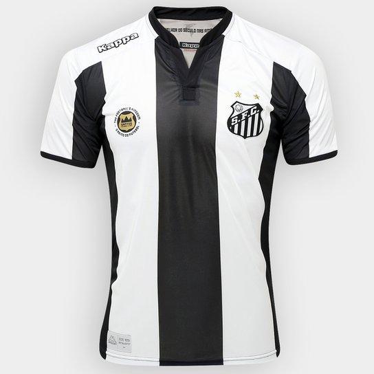 89bbfc5d0b Camisa Santos II 2016 s nº Torcedor Kappa Masculina - Compre Agora ...