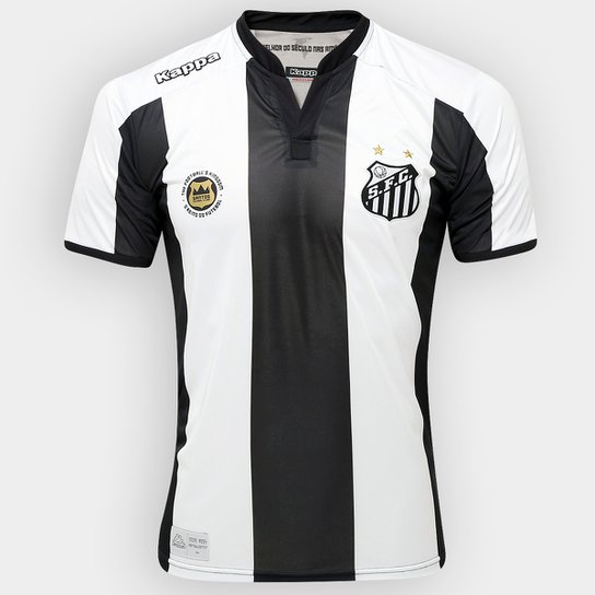 Camisa Santos II 2016 s nº Torcedor Kappa Masculina - Compre Agora ... 069e640bc3fe3