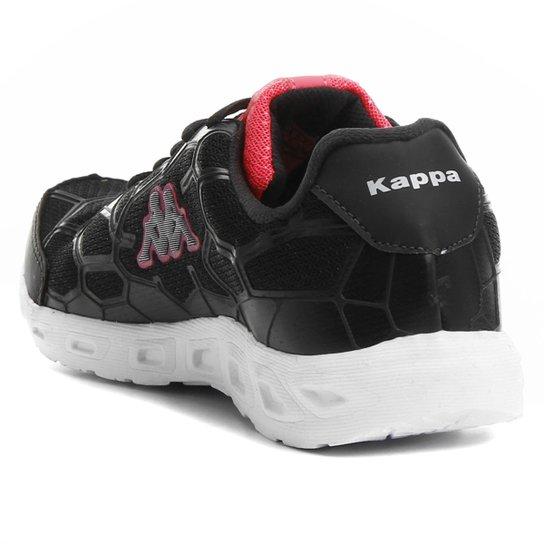 Tênis Kappa Da Vinci Feminino - Preto e Pink - Compre Agora  fbc5ac590f9ce