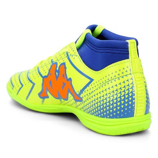 561adc119a Chuteira Futsal Kappa Údine - Verde e laranja - Compre Agora