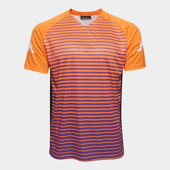 616fee0e82aca Camisa Kappa Pacific 17 Masculina - Laranja - Compre Agora