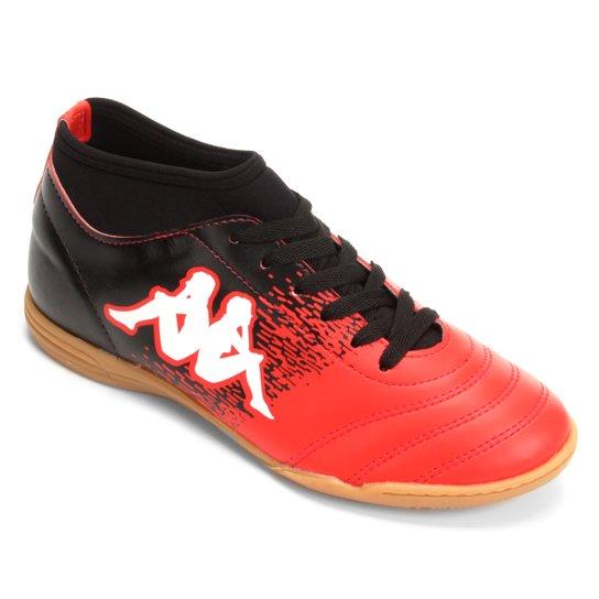 c1597ecec3 Chuteira Futsal Kappa Agility - Vermelho e Branco - Compre Agora