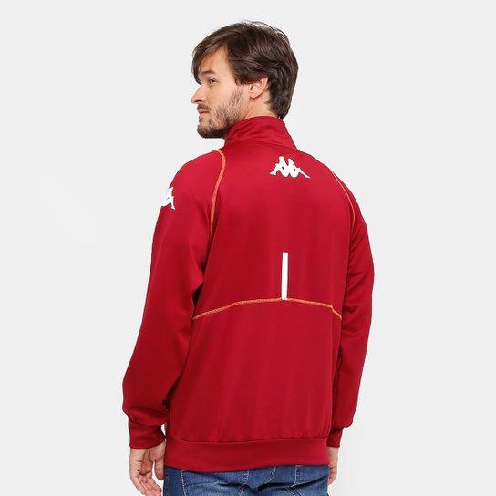 83e878b3f2 ... Jaqueta Torino Kappa Oficial 2017 Masculina - Vermelho Escuro ...