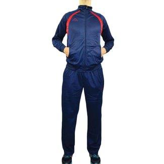 Agasalho Masculino Kappa Sportswear Rocca Elanca Azul