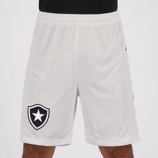 Calção Kappa Botafogo III 2019 Branco