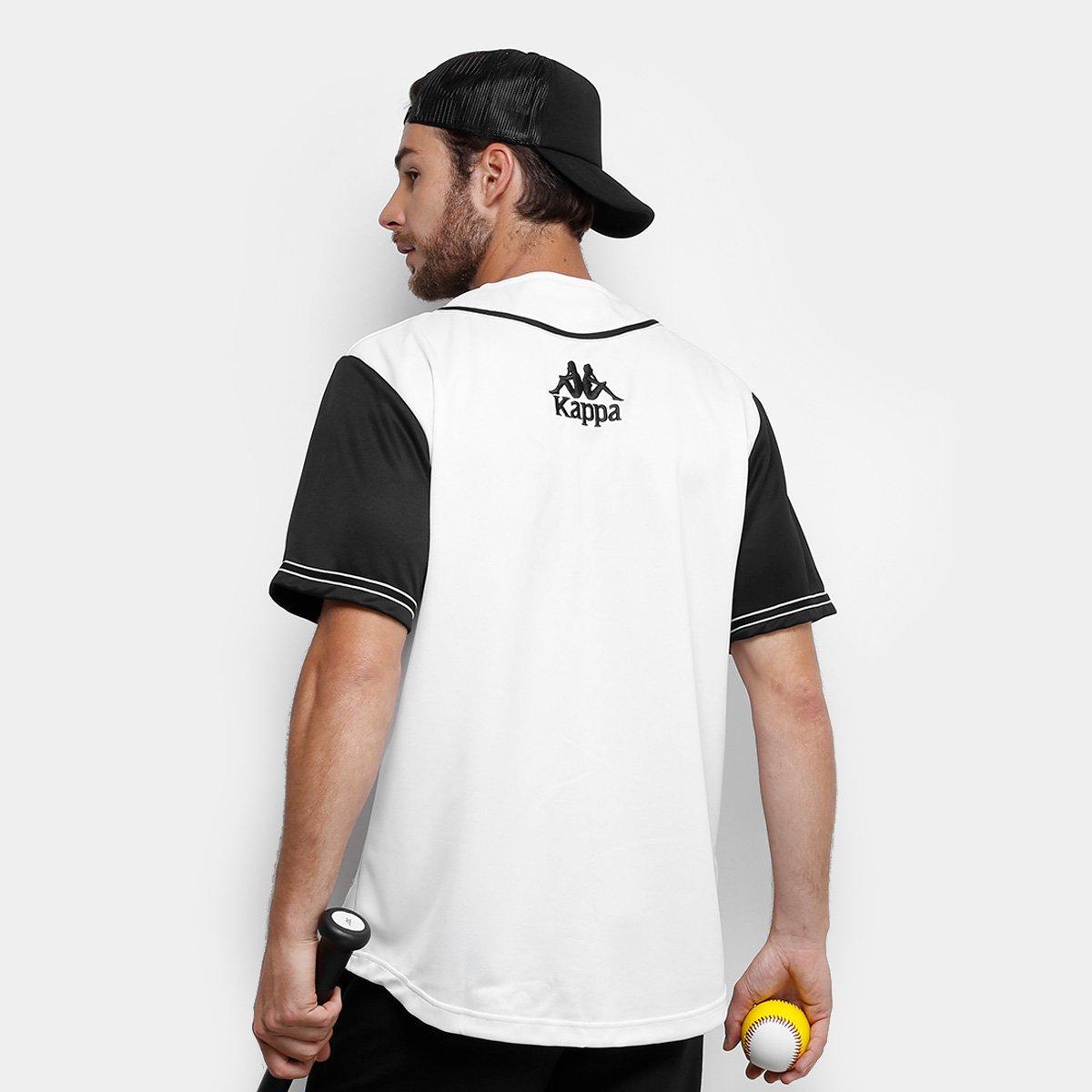 a0fcb3b55 Camisa Baseball Kappa New York Raglan 17 Masculina - Compre Agora ...