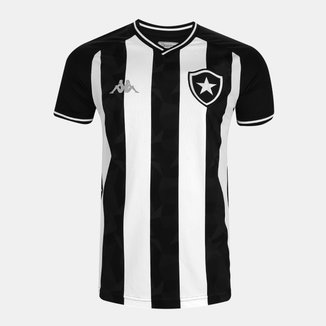 Camisa Botafogo I 19/20 s/nº Torcedor Kappa Masculina