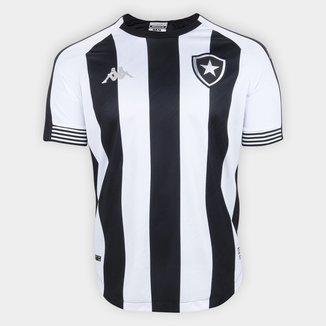 Camisa Botafogo I 20/21 s/n° Torcedor Kappa Masculina