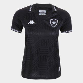 Camisa Botafogo II 21/22 s/n° Torcedor Kappa Feminina