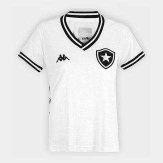 Camisa Botafogo III 19/20 s/nº Torcedor Kappa Feminina