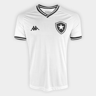 Camisa Botafogo III 19/20 s/nº Torcedor Kappa Masculina