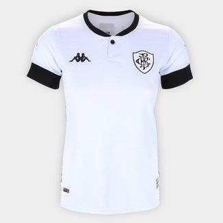 Camisa Botafogo III 21/22 s/n° Torcedor Kappa Feminina
