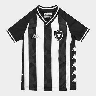 Camisa Botafogo Infantil I 19/20 s/nº Torcedor Kappa