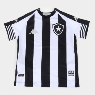 Camisa Botafogo Infantil I 20/21 s/n° Torcedor Kappa