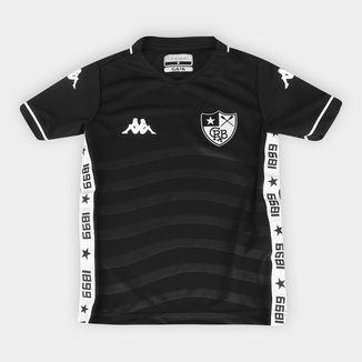 Camisa Botafogo Infantil II 19/20 s/nº Torcedor Kappa