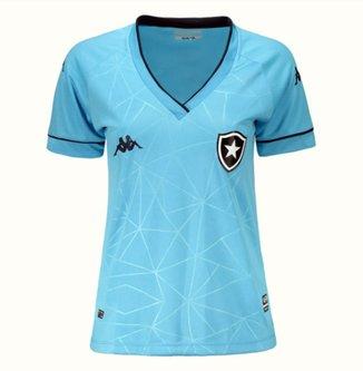 Camisa Botafogo IV 21/22 s/n° Torcedor Kappa Feminina