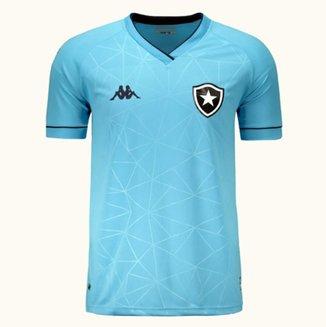 Camisa Botafogo IV 21/22 s/n° Torcedor Kappa Masculina