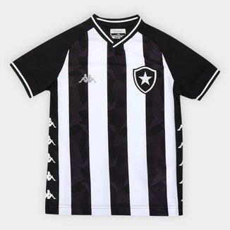 Camisa Botafogo Juvenil I 19/20 s/nº Torcedor Kappa