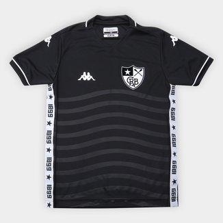 Camisa Botafogo Juvenil II 19/20 s/nº Torcedor Kappa