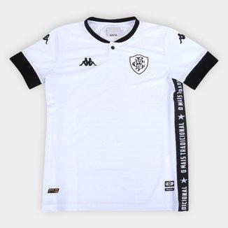 Camisa Botafogo Juvenil III 21/22 s/n° Torcedor Kappa