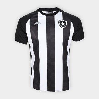 Camisa Botafogo Stripe Supporter 19/20 Kappa Masculina