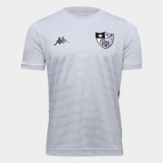 Camisa de Goleiro Botafogo II 19/20 s/nº Torcedor Kappa Masculina
