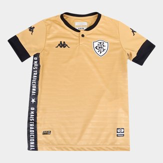 Camisa de Goleiro Botafogo Infantil III 21/22 s/n° Torcedor Kappa