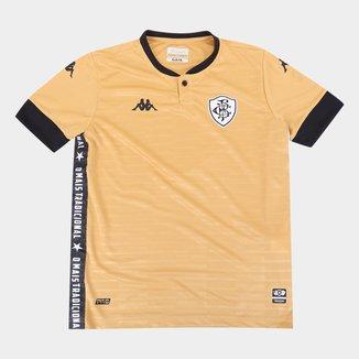 Camisa de Goleiro Botafogo Juvenil III 21/22 s/n° Torcedor Kappa