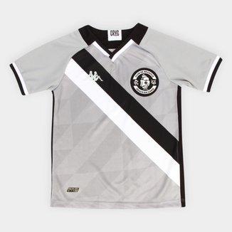 Camisa de Goleiro Juvenil Vasco III 21/22 s/n° Torcedor Kappa
