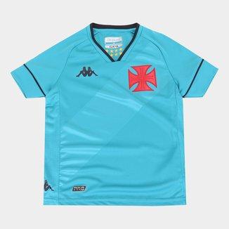 Camisa de Goleiro Vasco Infantil I 20/21 s/n° Torcedor Kappa