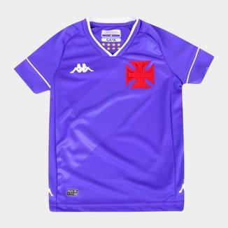 Camisa de Goleiro Vasco Infantil II 20/21 s/n° Torcedor Kappa