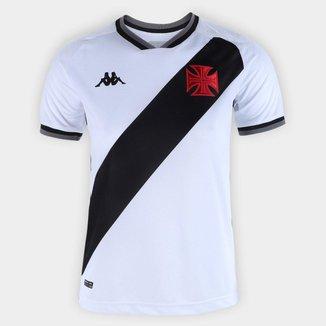 Camisa Feminina Vasco 2021/2022 Away Branca Kappa Oficial S/N