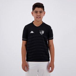 Camisa Infantil Kappa Botafogo II 2019 Masculina