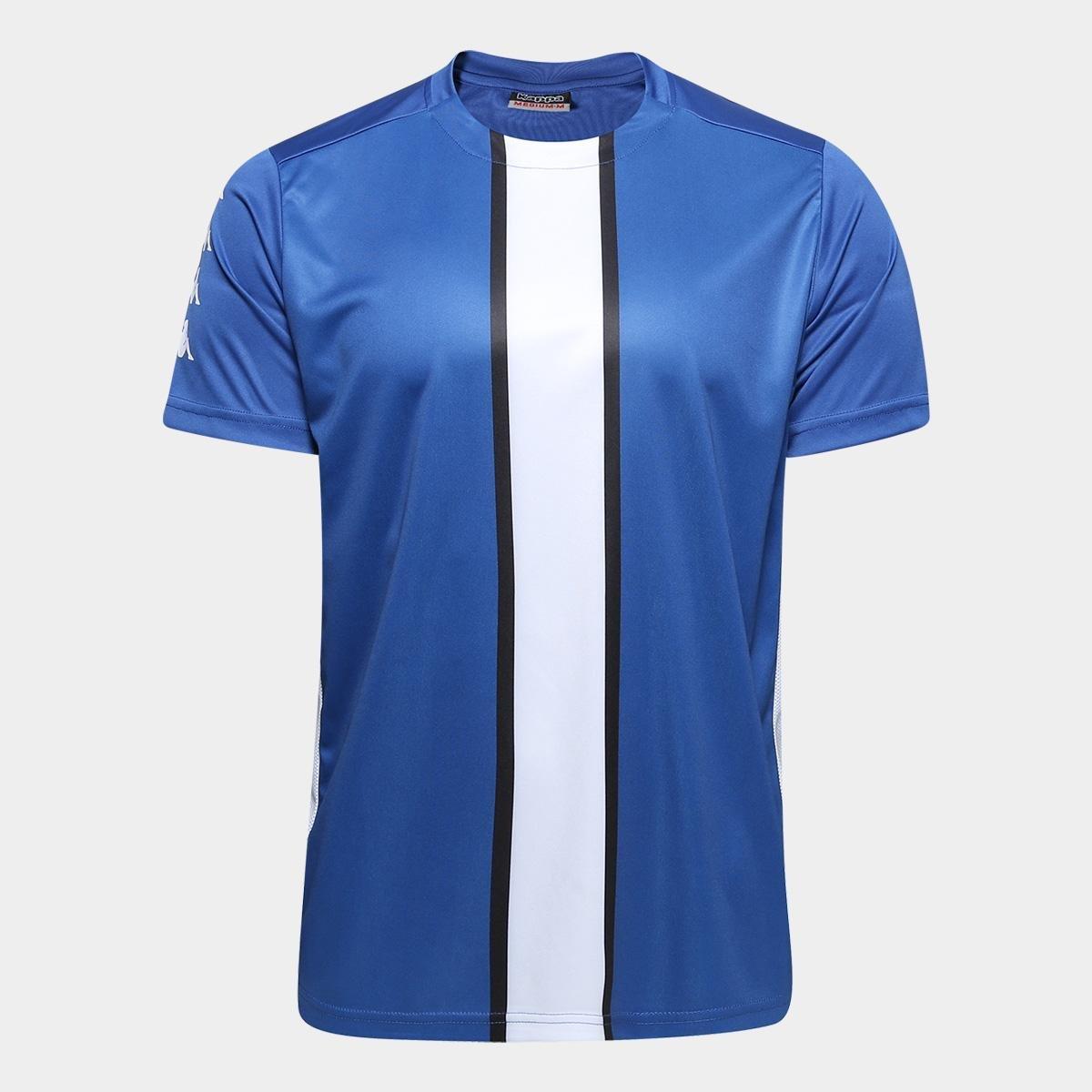 Camisa Kappa 17 Masculina - Azul - Compre Agora  353fc487065b3